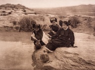 Edward S. Curtis, Evening in Hopi Land