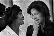 Gary Bishop, Two Women Mourning at JFK Memorial Ceremony