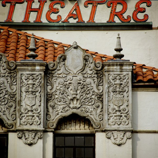 Detail from Village Theatre